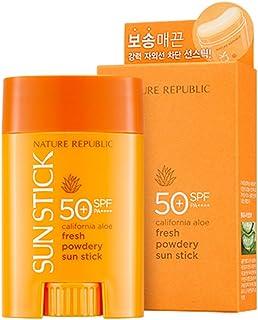Nature Republic California Aloe Fresh Powdery Sun Stick SPF50+ PA++++ 22g / 0.77 oz.