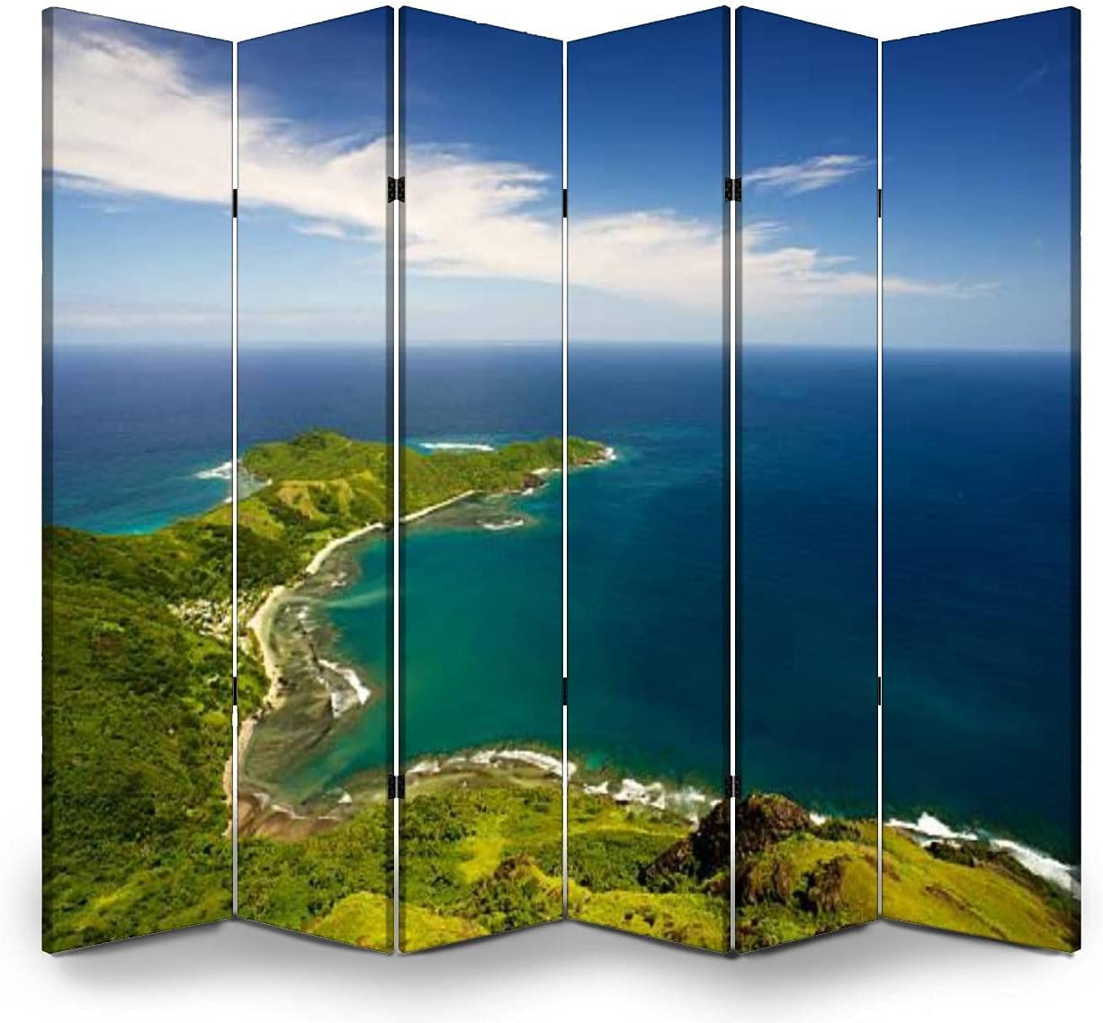 Dola-Dola 6 Panel Screen Room Divider Over New San Antonio Mall product Waya View Island Yasa