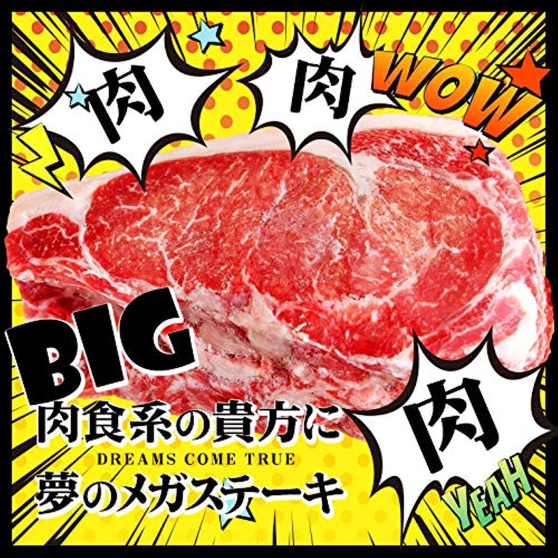 でかいステーキ 約600g 南九州産 牛肉 ロース ステーキ肉 冷凍