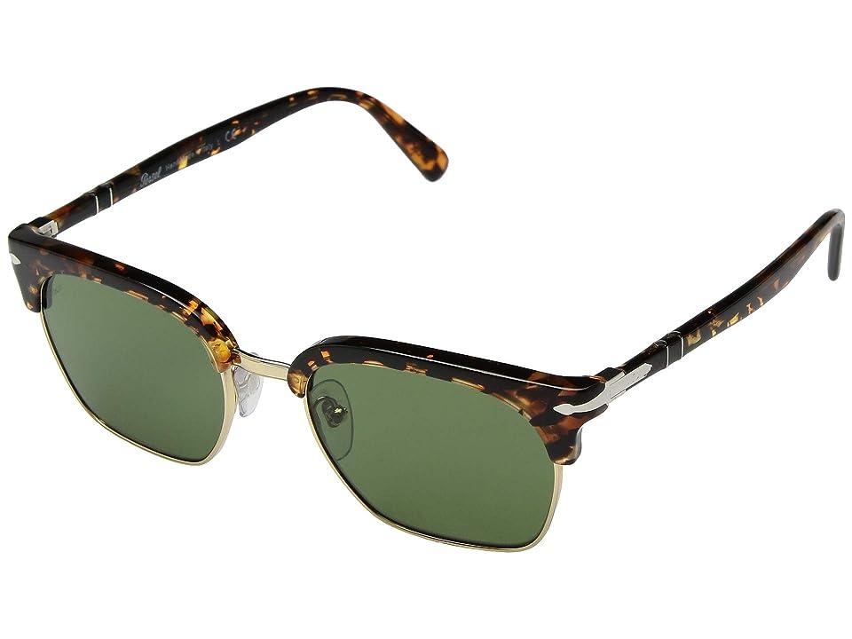 Persol 0PO3199S (Tortoise Brown/Green) Fashion Sunglasses