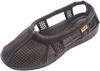 Unisex Buddhist Monk Shoes Breathable Mesh Lay Sneaker Kungfu Lohan Footwear