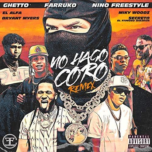 "Ghetto, Farruko & Nino Freestyle feat. El Alfa, Bryant Myers, Miky Woodz & Secreto ""El Famoso Biberon"""