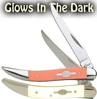 Item No 22311 Wr Case & Sons Cutlery Small Texas Toothpick Orange Starlight Kirinite