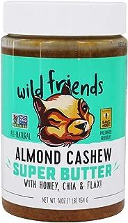 WILD FRIENDS ALL-NATURAL ALMOND CASHEW SUPER BUTTER