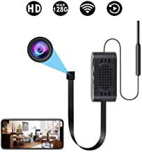 Spy Camera WiFi Hidden Cameras with Motion Detection, Mini Wireless Remote Live View with..