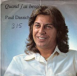 Paul Daraiche: Quand J'ai Besoin / (Instrumental) 7