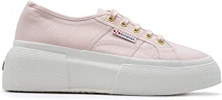 Superga Luxury Fashion Womens S00DQS02287COTWW6Y Pink Sneakers | Season Outlet