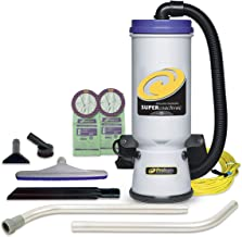 ProTeam Commercial Backpack Vacuum, Super CoachVac Vacuum Backpack with HEPA Media..