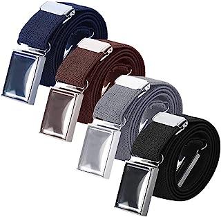 WILLBOND Cintur/ón el/ástico ajustable con hebilla para ni/ños