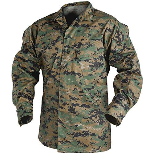 Helikon USMC Shirt Polycotton Twill Digital Woodland Size M