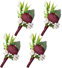 Best mens boutonniere for wedding Reviews