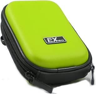 Ex-Pro   Green Hard Clam Shock proof Digital Camera Case Bag CR293C fo...