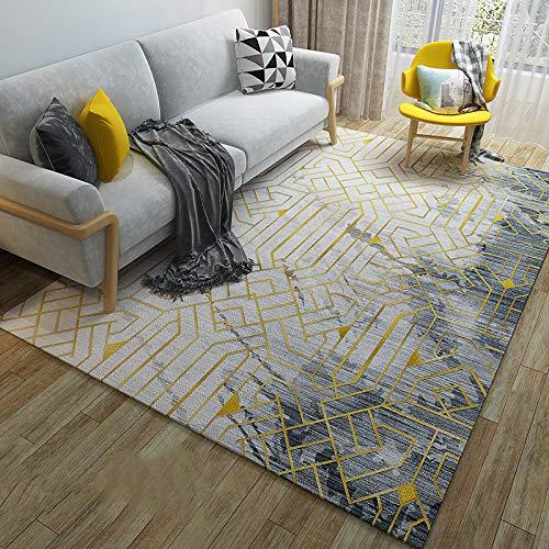 GBFR Alfombra corta de cachemir grande para sala de estar, dormitorio, estudio, exterior, comedor, baño, balcón
