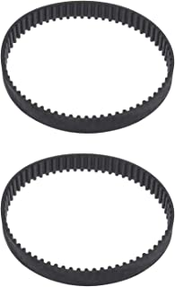 67-denti cinghia dentata ad anello chiuso compatibile con SKIL 1500 1500H 1500H1 2pcs HTD201-3M cinghie di trasmissione piallatrice in gomma 2610389040