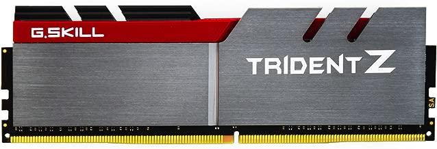 G.SKILL 32GB (4 x 8GB) TridentZ Series DDR4 PC4-28800 3600MHZ For Intel Z170 Platform 288-Pin Desktop Memory Model F4-3600C17Q-32GTZ