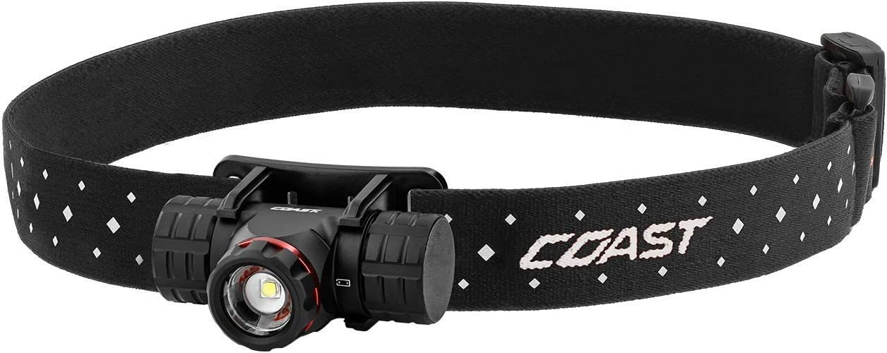 Coast XPH25R 410 Lumen USB RECHARGEABLE-DUAL POWER LED Headlamp