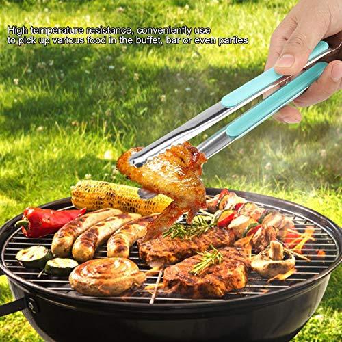 Emoshayoga Hitzebeständig mit rutschfestem Griff-Grillclip für Salatkuchenbrot