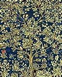 Pintura por número/kit de pintura al óleo de bricolaje/sin marco/set bordado de cristal completo arte de la pared decoración regalo pintado árboles felices-50x40cm