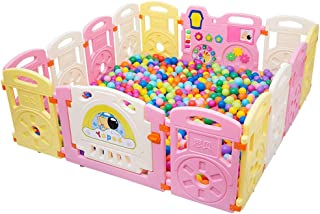 Relaxbx Baby Fence Children S Games Indoor Home Toy Fence Learning Walking Fence Playground Safety Activity Center