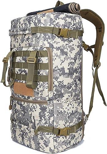 LL Sacs de Trekking Sac à Dos en Plein air pour Homme Sac à Dos 50L Camping Randonnée Multi-Fonction Sac à Dos