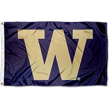 College Flags and Banners Co Washington UW Huskies 4x6 Flag