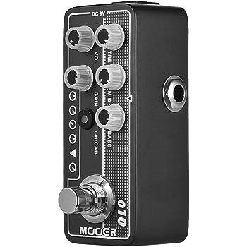 Muslady MOOER MICRO PREAMP Series 002 UK Oro Crujiente Británico ...
