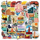 Self-adhesive World Famous Country City waterproof stickers. Smooth Matt Finish. Easy to apply, easy to remove. Suitable for mobile phone, laptop, monitor, desk etc. Appropriate machine cuts, no need to cut manually, tear off and stick. Each single s...