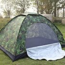 Pop Up Camping Tent for 2-3 Person, Upgraded Camping Tent Waterproof Windproof UV Protection Backpacking Tent, Foldable & Easy Set Up for Outdoor Camping Hiking Traveling Fishing
