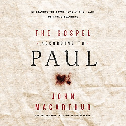 The Gospel According to Paul audiobook cover art