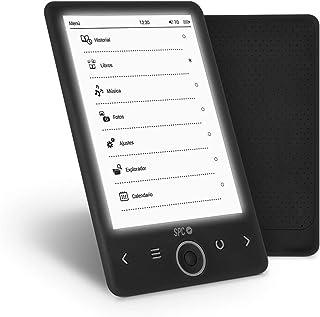 comprar comparacion SPC Dickens Light - Libro electrónico con luz en pantalla, memoria interna de 4GB, ligero y fino