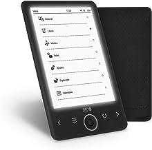 SPC Dickens Light - Libro electrónico con luz en pantalla, memoria interna de 4GB, ligero y fino
