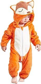 MICHLEY BéBé Grenouillères Animal Pyjama Combinaison Barboteuse Enfant Filles Costume 0-24 Mois