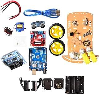 Homyl Smart Car Tracking Motor Robot Inteligente Car Chasis Kit 2WD Ultrasónico Arduino