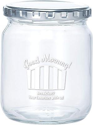 東洋佐々木ガラス キャニスター ホワイト M 日本製 専用しおり付 HW-564-JAN-P