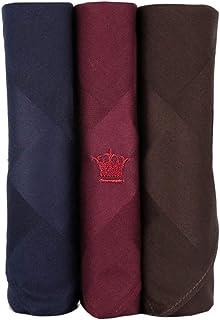 Louis Philippe Men's Cotton Handkerchief (8904241906461_UAE4187_Multi-Coloured)