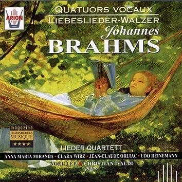 Brahms : Quatuors vocaux, Liebeslieder Walzer