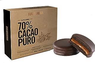NEW HAVANNA Extra Dark Chocolate 70% (9 alfajores) - GIFT BOX