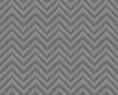 A.S. Création behang Soraya 10,05 m x 0,53 m grijs rood 306551 Natuur Breite 0,53 m - Rollenlänge 10,05 m metallic, zwart.