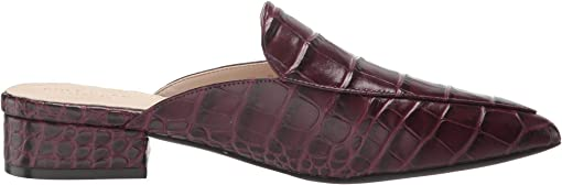 Wine Tasting Croc Print Leather