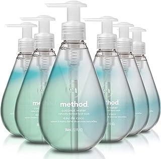 Method Gel Hand Wash, Coconut Water, 12 Ounce, 6 Count