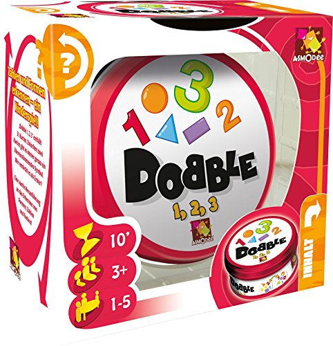 Zygomatic 002964 - Dobble 1, 2, 3 - Kinder-Spiel, Deutsch