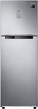Samsung 275 L 3 Star Frost Free Double Door Refrigerator(RT30N3723S8/NL, RT30N3723S8/HL, Elegant Inox, Convertible, Inverter Compressor)