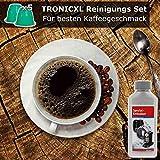 TronicXL - Set de descalcificador para máquina de cápsulas de limpieza (5 unidades, compatible con cápsulas Nespresso De'Longhi DeLonghi EN 560.B 85.R 560.S 85.B 125.R Pixie 80.BAE)
