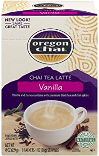Oregon Chai Vanilla Chai Tea Latte - 8 Ounce