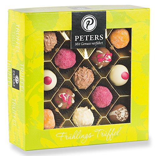 PETERS Frühlingstrüffel 300g Trüffel und Pralinen | mit und ohne Alkohol | Geschenk für Frauen | Geschenk für Männer