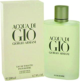 Giorgio Armani Gift Acqua Di Gio Cologne 6.7 oz Eau De Toilette Spray for Men