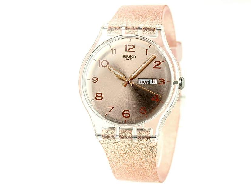 有罪没頭するスペイン語[スウォッチ] SWATCH 腕時計 スイス製 オリジナル ニュージェント SUOK703 レディース [並行輸入品]