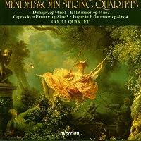 String Quartets Op.44 Nos. 1 & 3 Fugue Op.81