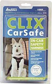 Company of Animals Clix Car Safe Harness for Dogs, Large, Black