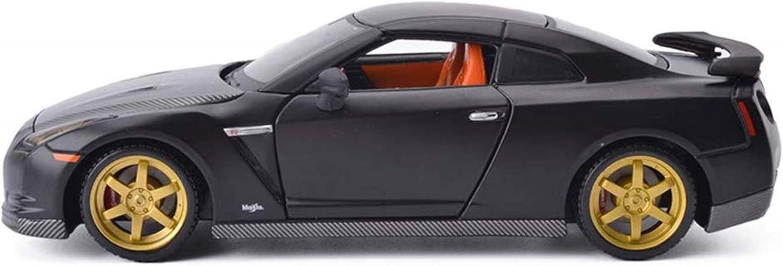 NYDZDM Car Department store Spasm price Model 1:24NISSANGT-R Alloy Die-Casting Simulation
